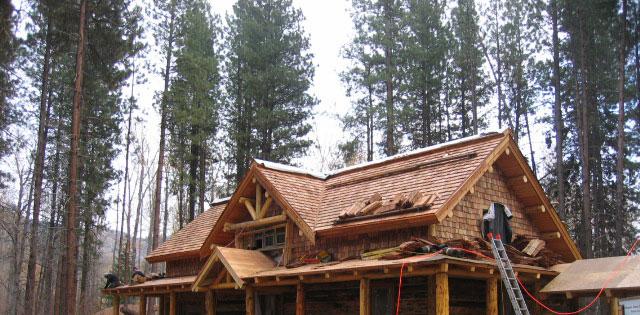 Methow Valley Cedar Shake Roofing