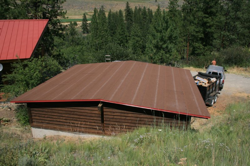 Methow valley flat or low slope roofing triplet roofing Low pitched roof