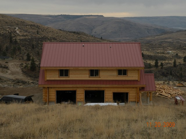 Methow valley metal roofing triplet roofing for Rustic roof